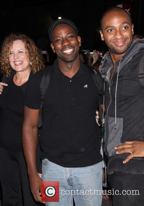 Nance Williamson, Maurice Jones and Donte Bonner 1