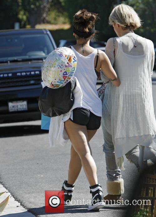 Brenda Song Going To A Birthday Party