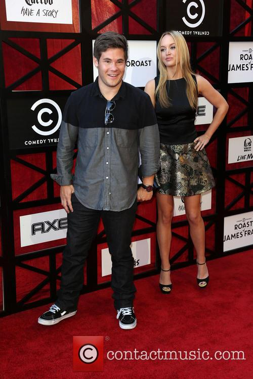 Adam Devine and Kelley Jakle