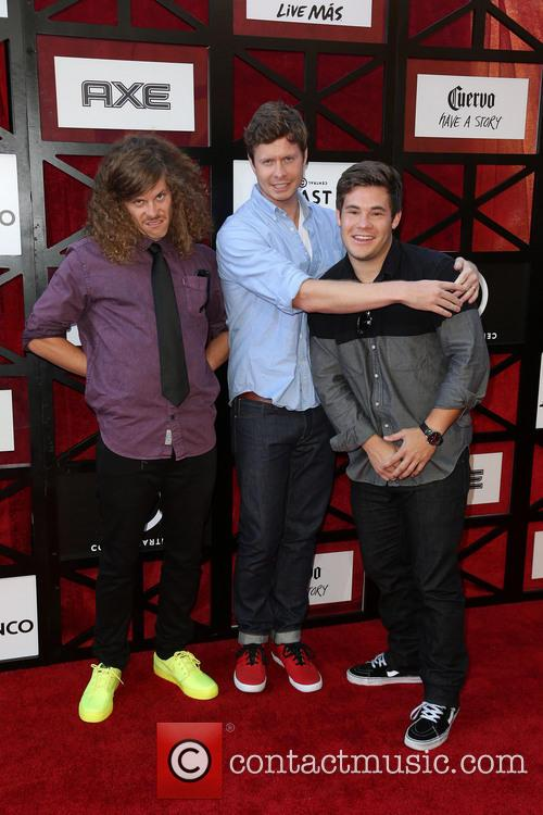 Blake Anderson, Anders Holm and Adam Devine 2
