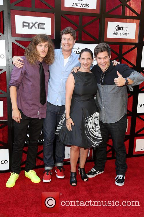Blake Anderson, Anders Holm, Michele Ganeless and Adam Devine 3