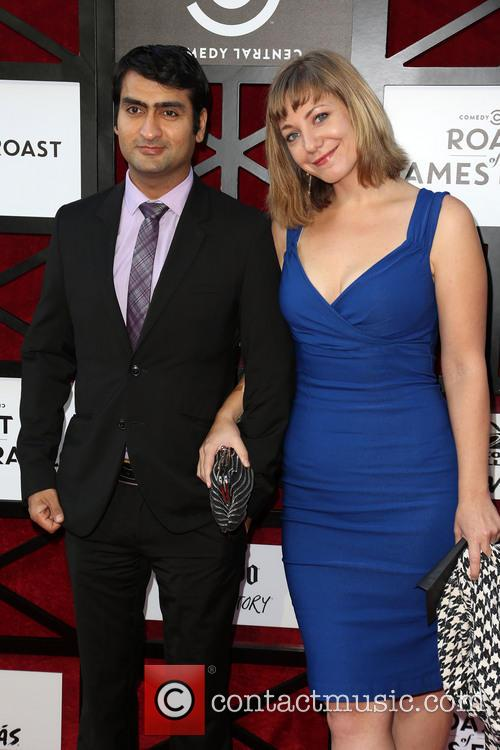 Kumail Nanjiani and Emily Gordan 1