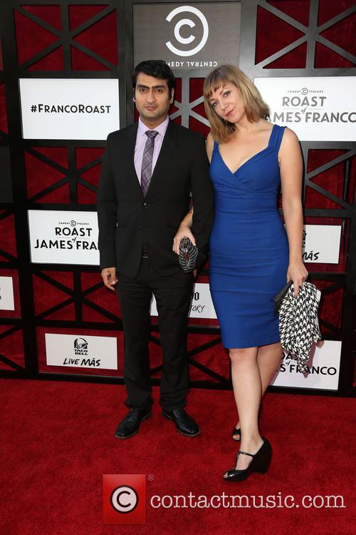 Kumail Nanjiani and Emily Gordan 2