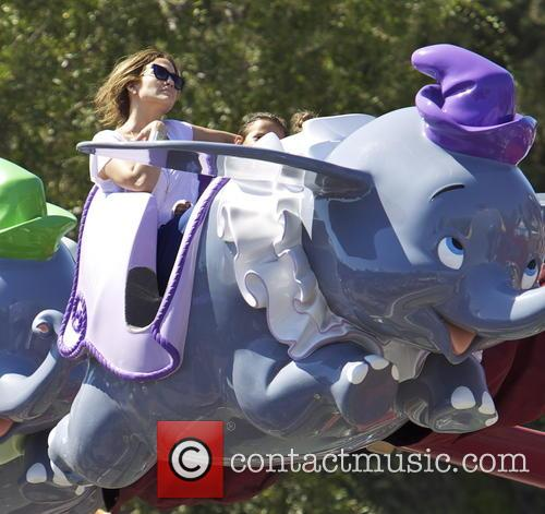 Jennifer Lopez at Disneyland