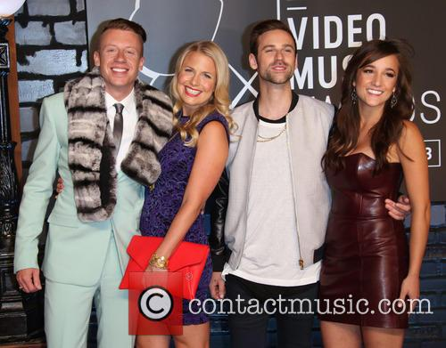 Macklemore, Tricia Davis and Ryan Lewis 4