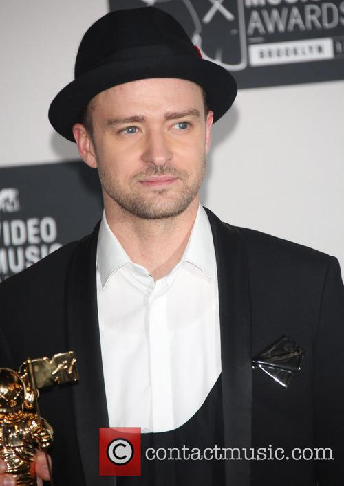 Justin Timberlake at the 2013 MTV Music Awards