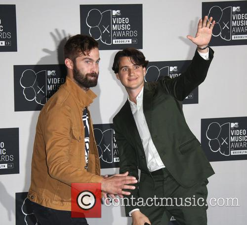 Ezra Koenig, Christopher Tomson and Vampire Weekend 1