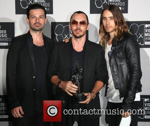 30 Seconds To Mars, Shannon Leto, Jared Leto and Tomo Milicevic 4