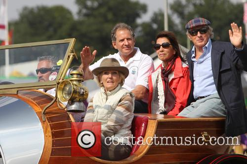 Mary Berry, Jody Scheckter and Jackie Stewart 2