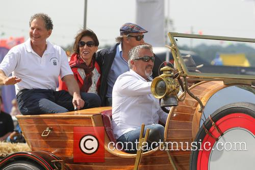 Mary Berry, Paul Hollywood, Jackie Stewart and Jody Scheckter 3