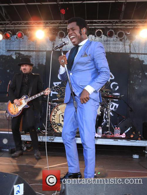 Vintage Trouble and Ty Taylor 7