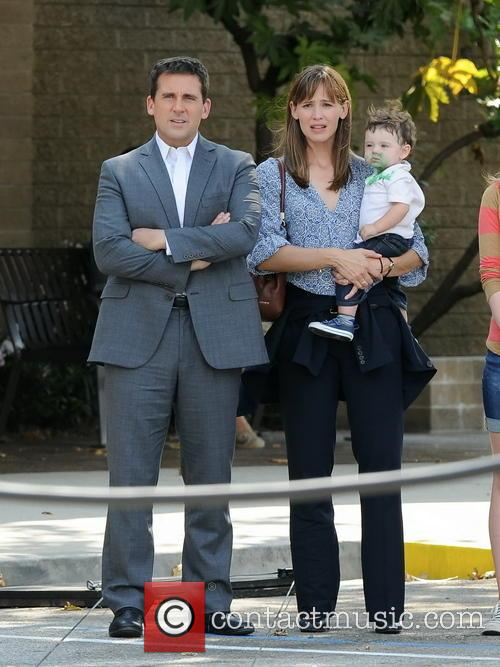 Jennifer Garner and Steve Carell 3