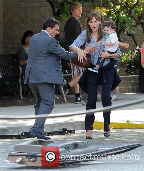 Jennifer Garner and Steve Carell 4
