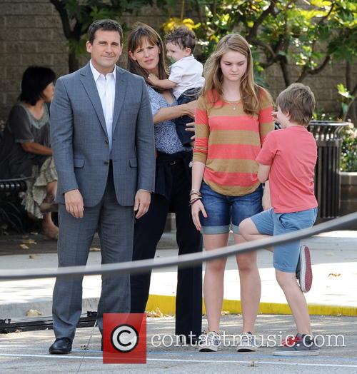 Jennifer Garner, Steve Carell and Kerri Dorsey 6