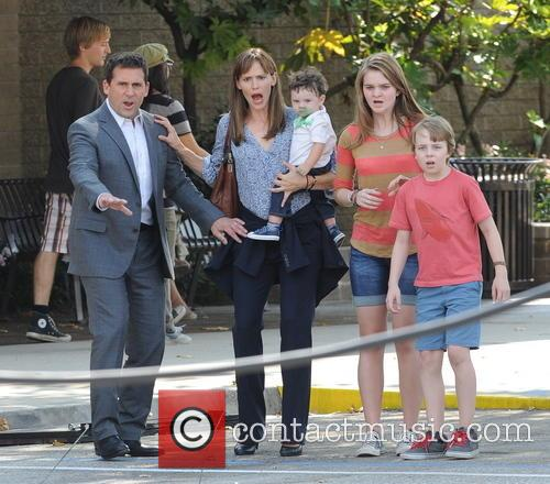 Jennifer Garner, Steve Carell and Kerri Dorsey 8