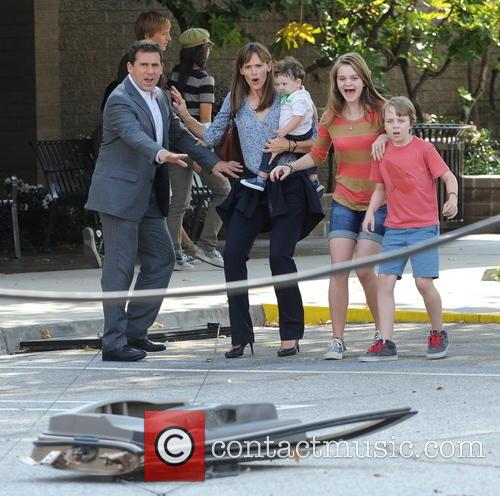 Jennifer Garner, Steve Carell and Kerri Dorsey 9
