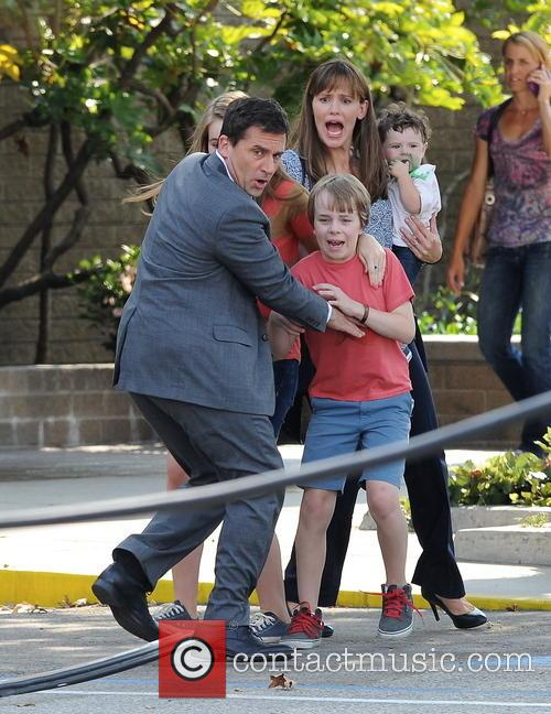 Jennifer Garner, Steve Carell and Kerri Dorsey 10