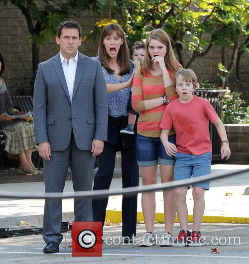 Jennifer Garner, Steve Carell and Kerri Dorsey 11
