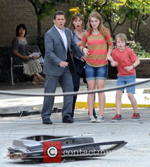 Jennifer Garner, Steve Carell and Kerri Dorsey 12