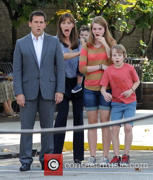 Jennifer Garner, Steve Carell and Kerri Dorsey 1