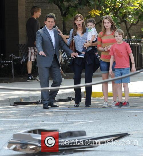 Jennifer Garner, Steve Carell and Kerri Dorsey 14