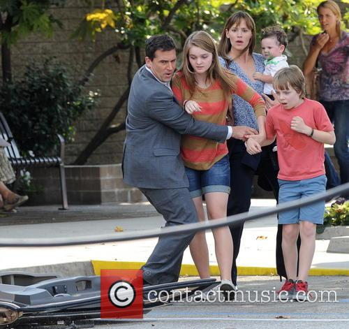 Jennifer Garner, Steve Carell and Kerri Dorsey 15