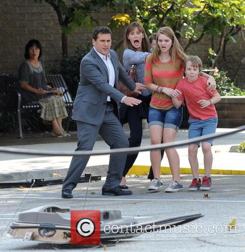 Jennifer Garner, Steve Carell and Kerri Dorsey 16