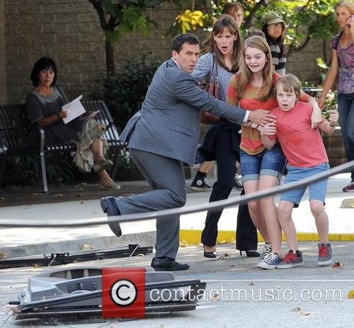 Jennifer Garner, Steve Carell and Kerri Dorsey 17