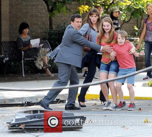 Jennifer Garner, Steve Carell and Kerri Dorsey 18