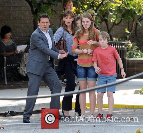 Jennifer Garner, Steve Carell and Kerri Dorsey 21