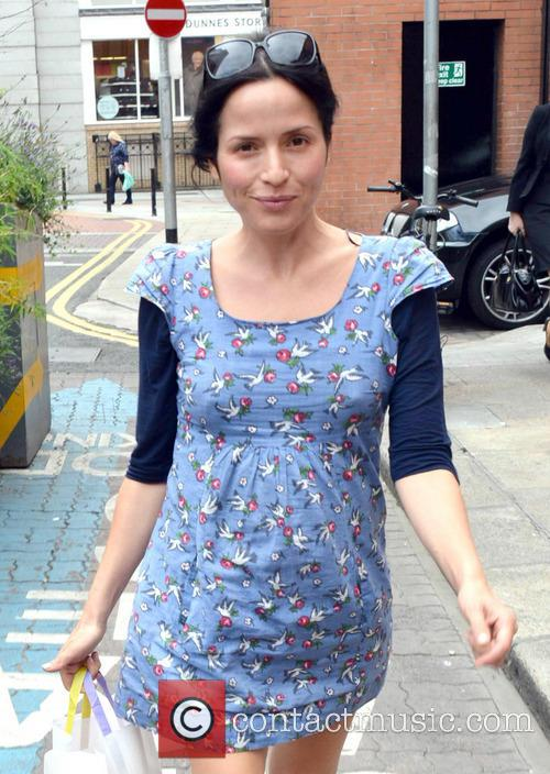 Andrea Corr at St Stephens Green Shopping Centre
