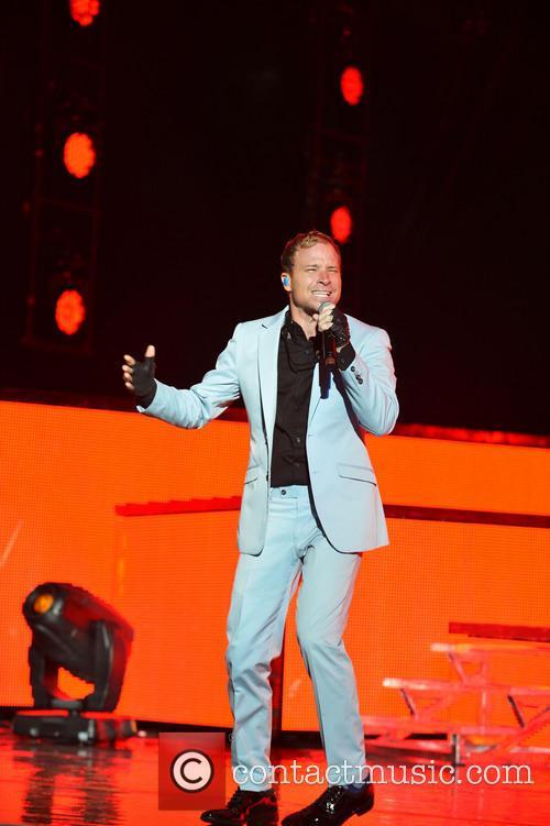 Backstreet Boys concert at the Cruzan Amphitheater