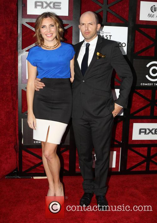 June Diane Raphael and Paul Scheer 2