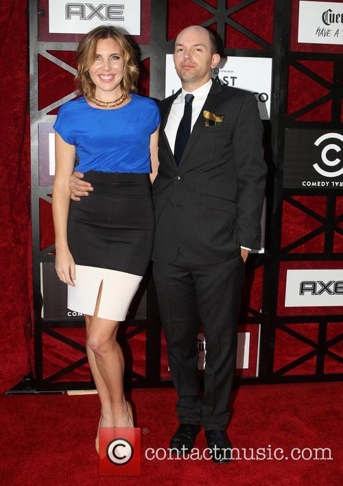 June Diane Raphael and Paul Scheer 4