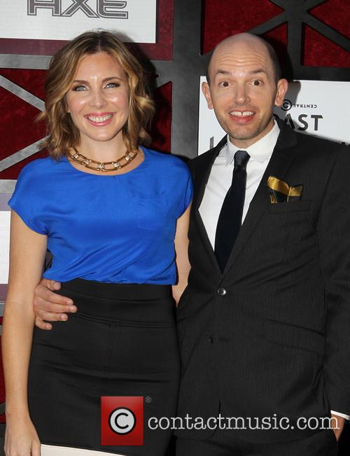 June Diane Raphael and Paul Scheer 5