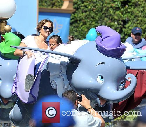 Jennifer Lopez, JLO, Emme Maribel Muniz, Maximilian David Muniz, Disneyland