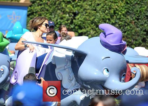 Jennifer Lopez, JLO, Emme Maribel Muniz, Maximilian David Muniz, Disneyland