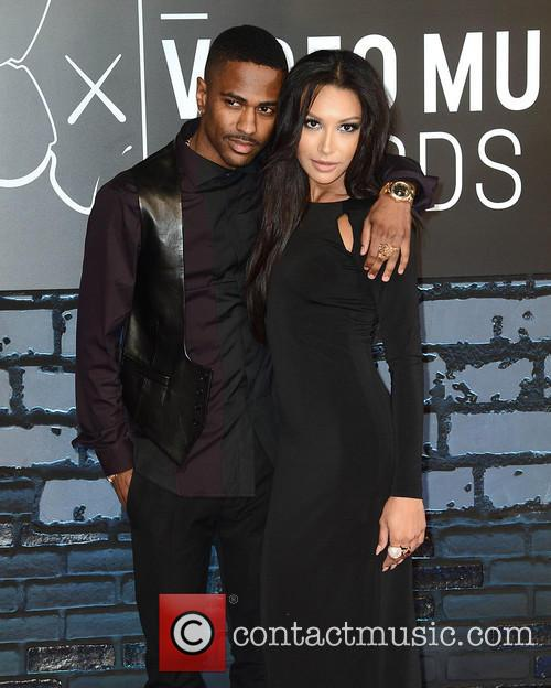 Big Sean and Naya Rivera 3