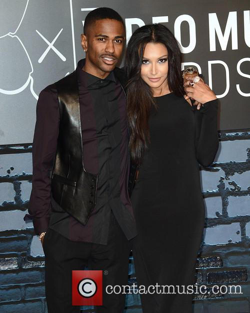 Big Sean and Naya Rivera 1