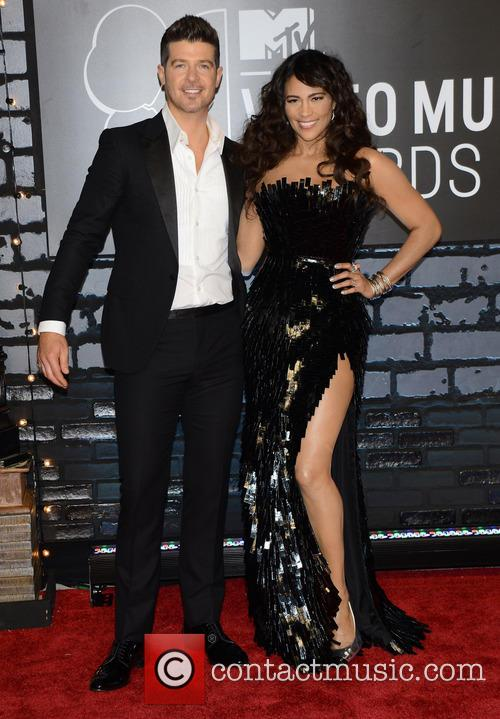 Robin Thicke and Paula Patton 8