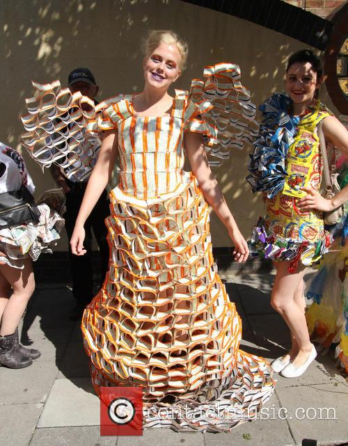 Notting Hill, Recycled costumes, London, Notting Hill Carnival