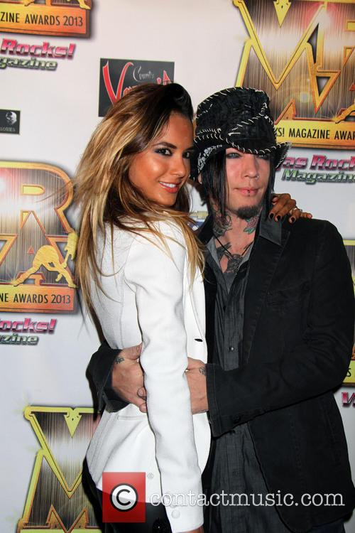 Dj Ashba and Nathalia Henao 2