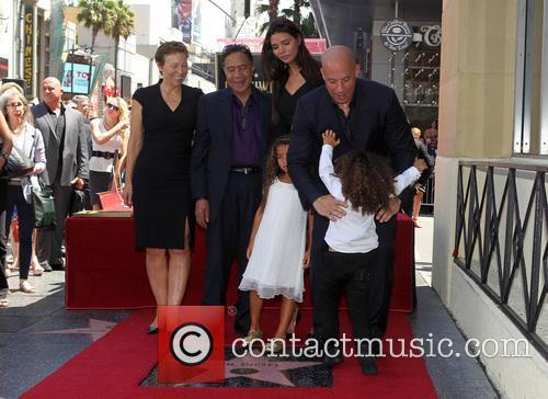 Delora Vincent, Irving Vincent, Paloma Jiménez, Hania Riley, Vin Diesel and And Son 2