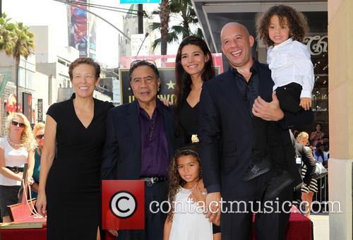 Delora Vincent, Irving Vincent, Paloma Jiménez, Hania Riley, Vin Diesel and And Son