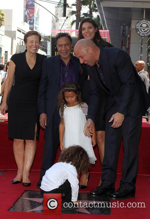 Irving Vincent, Paloma Jiménez, Hania Riley, Vin Diesel, and son Irving Vincent Vin Diesel