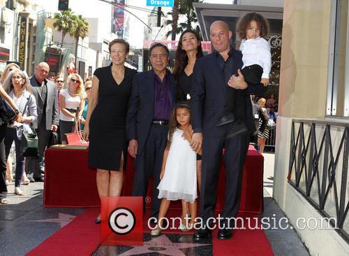 Delora Vincent, Irving Vincent, Paloma Jiménez, Hania Riley, Vin Diesel and And Son 5