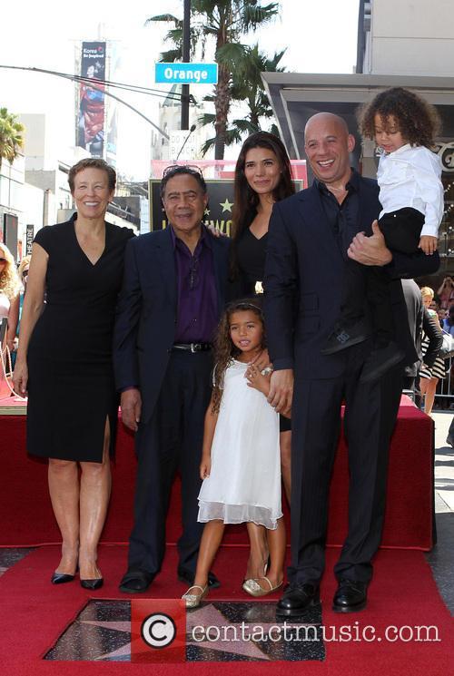 Delora Vincent, Irving Vincent, Paloma Jiménez, Hania Riley, Vin Diesel and And Son 6