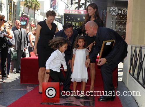 Delora Vincent, Irving Vincent, Paloma Jiménez, Hania Riley, Vin Diesel, and son