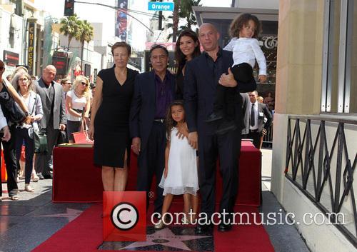 Delora Vincent, Irving Vincent, Paloma Jiménez, Hania Riley, Vin Diesel and And Son 8