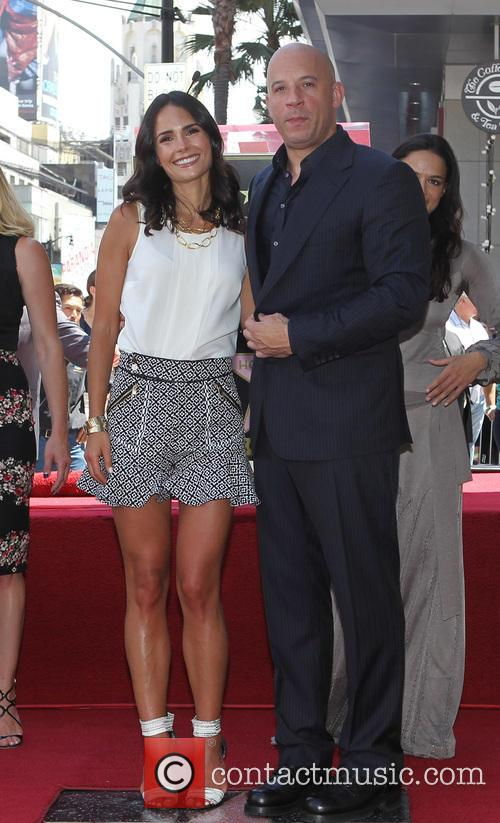 Jordana Brewster and Vin Diesel 2